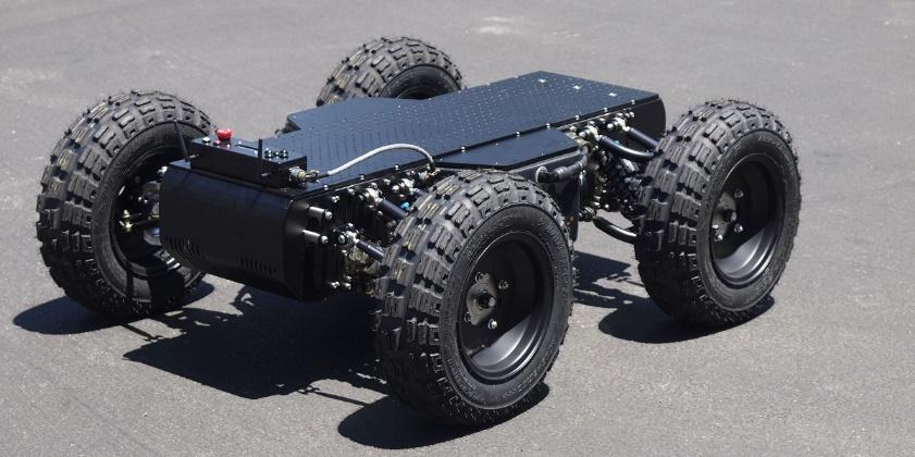 The wheel robot: intelligent modular actuator concept