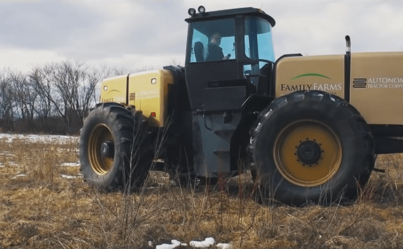 Autonomous Tractor boss says new technology can help farmers halve their costs