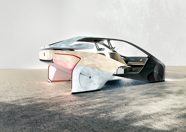 BMW demonstrates new concepts for autonomous and electric cars at CES
