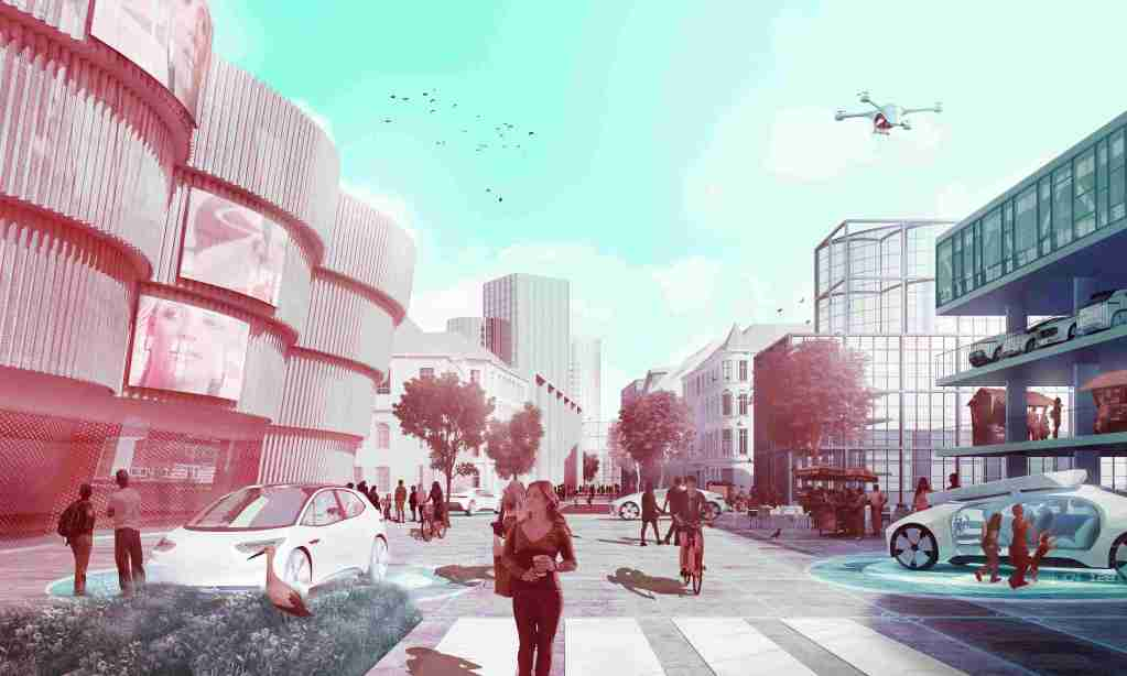 Daimler offers vision of future cities built around autonomous vehicles