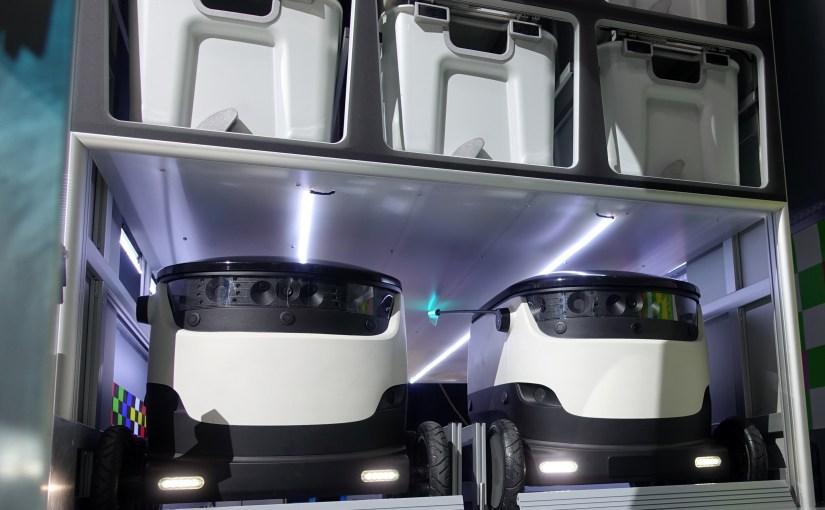 Mercedes-Benz Vans adVANce… with Starship robots