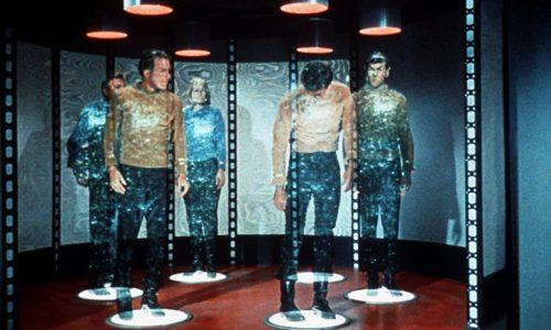 Kirk, Spock teleportation