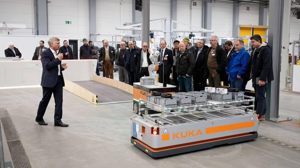 Kuka plans to open TechCenter knowledge facilities worldwide
