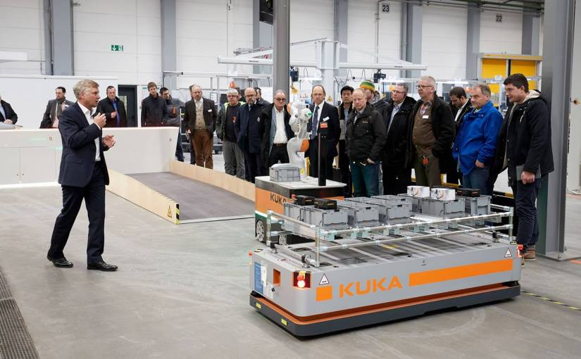 Kuka plans to open TechCenter knowledge facilities worldwide