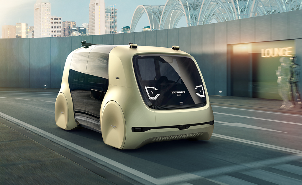 Volkswagen launches its first autonomous and electric concept car
