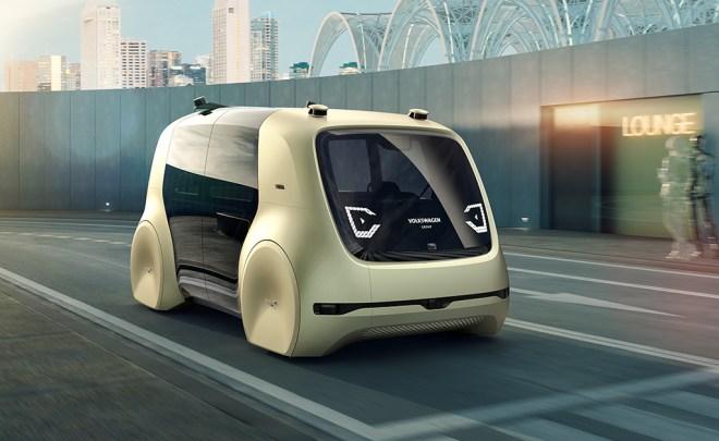 Volkswagen's new concept autonomous and electric car, Sedric