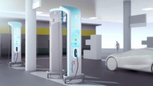 Shell H2 Dispenser Concept by Designworks