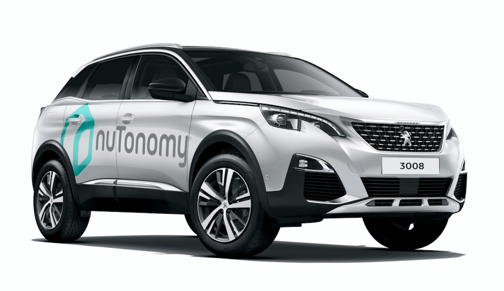 Groupe PSA and nuTonomy partner to test autonomous Peugeot cars in Singapore
