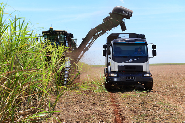 Self-steering Volvo truck set to increase Brazil's sugar-cane harvest