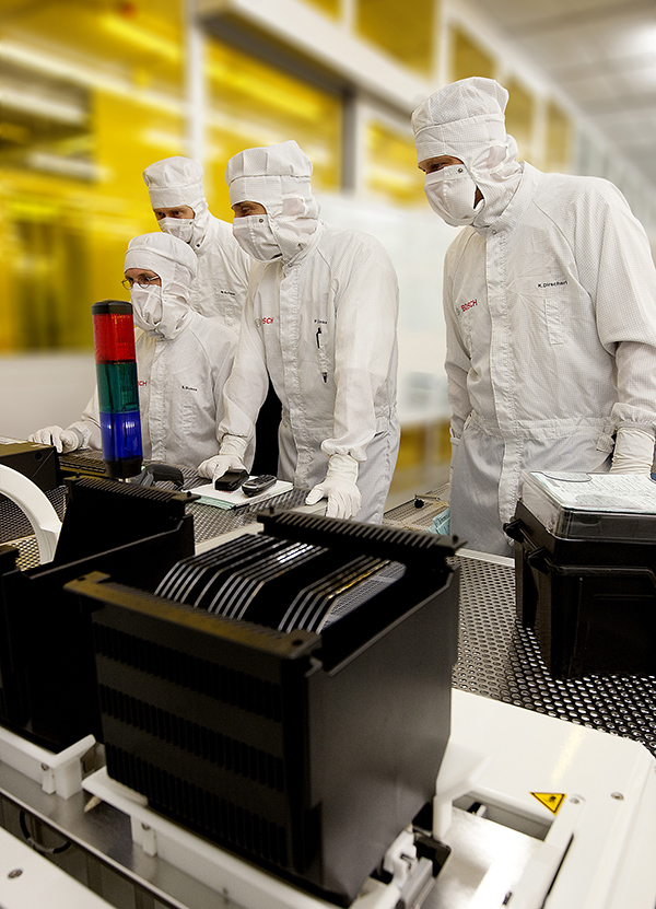 Bosch to build gigantic semiconductor production plant in Germany