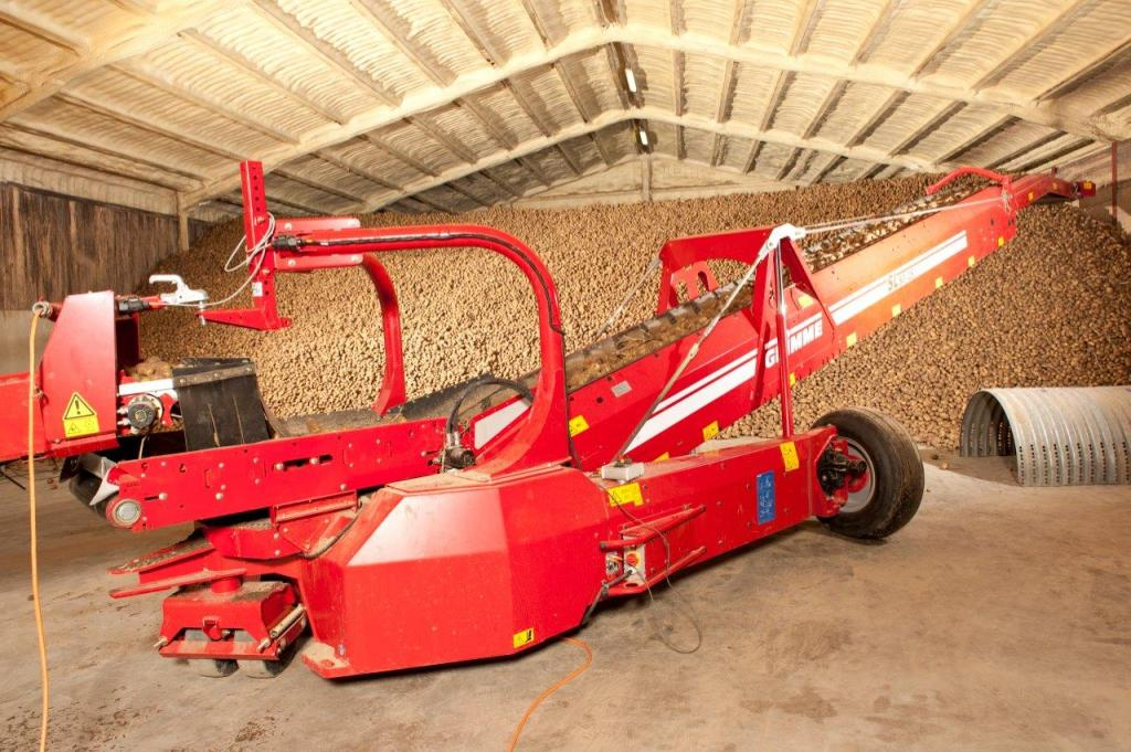 grimme potato machine