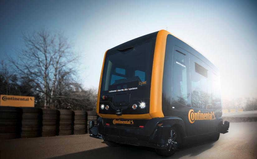 Continental sends out autonomous minibus for a driverless drive
