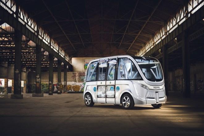 navya arma autonomous vehicle 2
