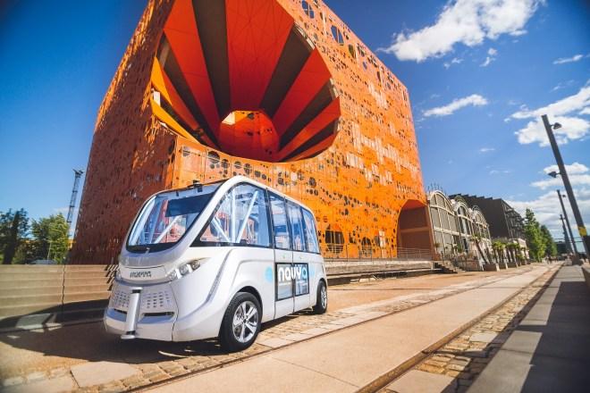 navya arma autonomous vehicle
