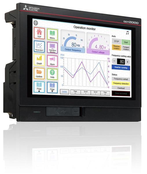 Mitsubishi releases new widescreen human machine interface