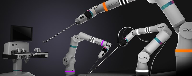 cambridge medical robotics versius