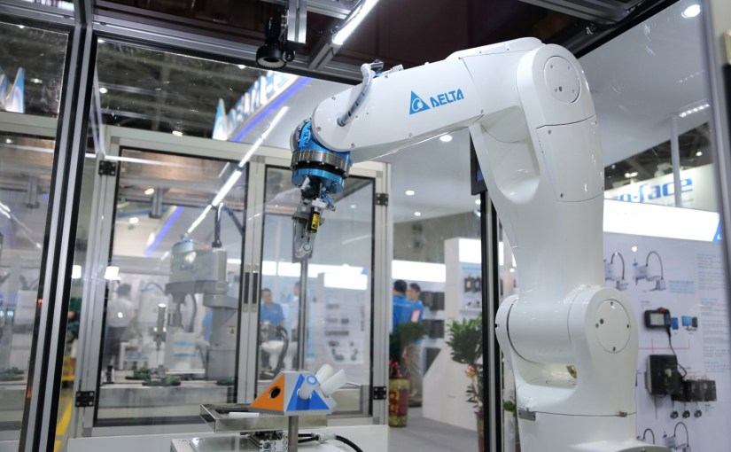 Delta showcases smart production line at Taipei event