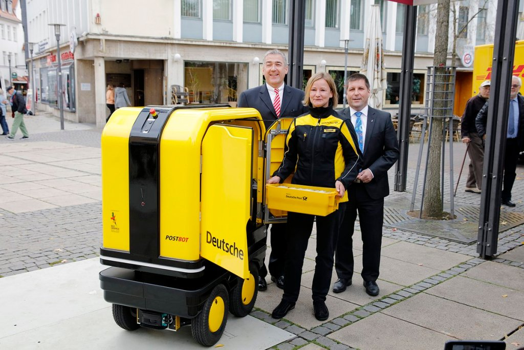 DHL tests PostBot autonomous vehicle for postal deliveries