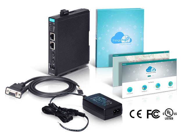 Moxa releases IIoT gateway starter kit with Amazon Web Services support built in