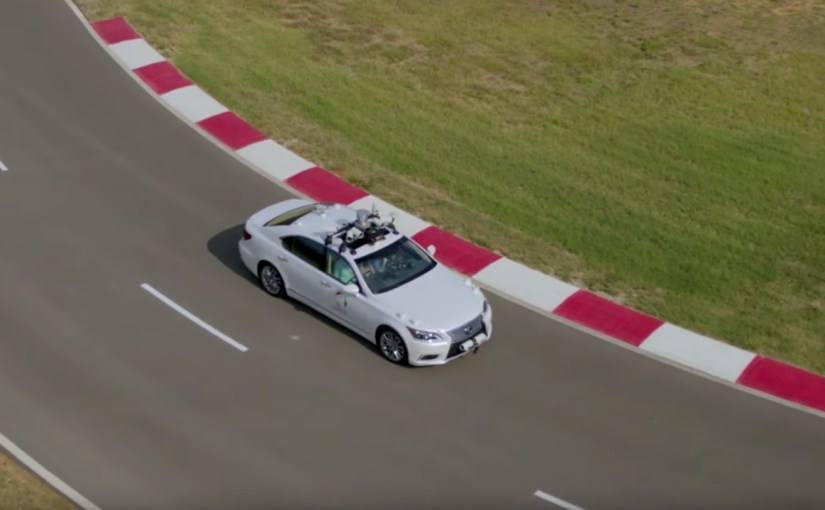 Toyota Research Institute demonstrates new Guardian and Chauffeur autonomous driving systems
