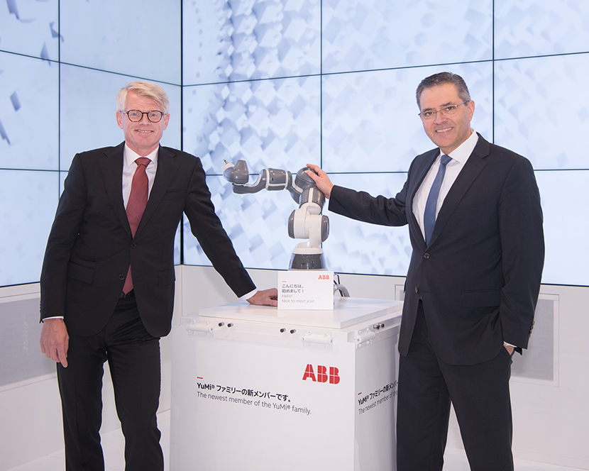 ABB unveils newest product in the YuMi industrial robot range – this one has a single arm
