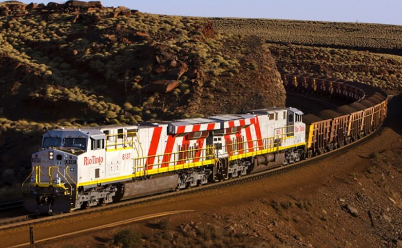Rio Tinto demonstrates autonomous freight train featuring Ansaldo technology