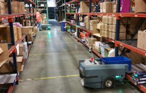 New research: Massive rise in warehouse robots predicted