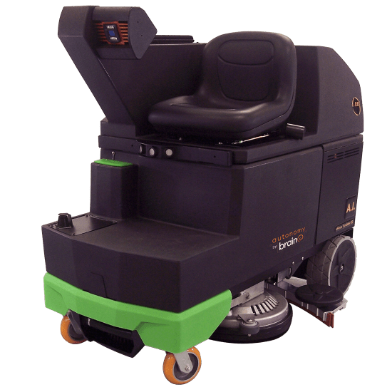 Walmart testing autonomous floor scrubber developed by Brain Corporation