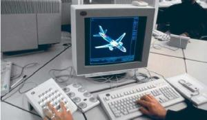 computer plane design