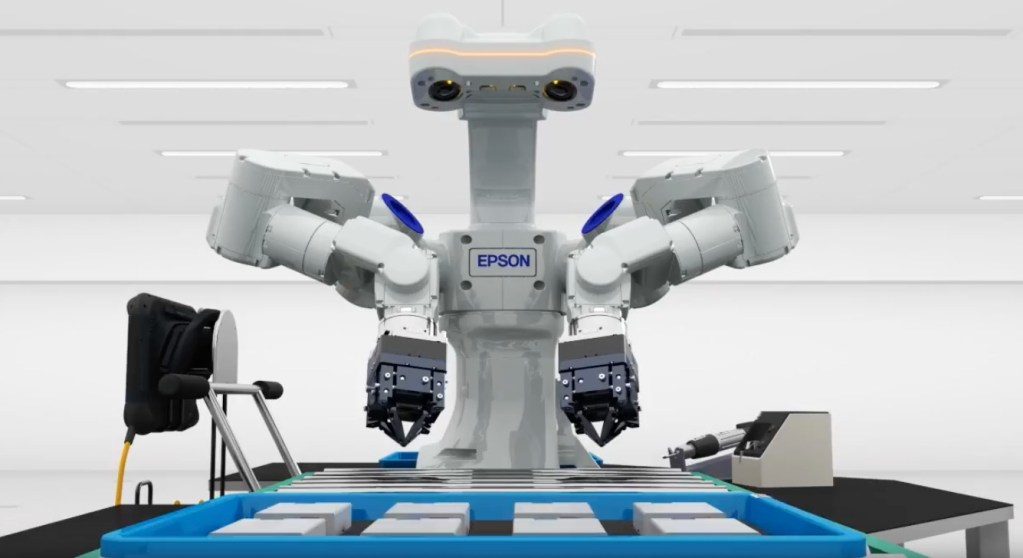 Epson Robots showcases robotics solutions for factory automation at ATX East