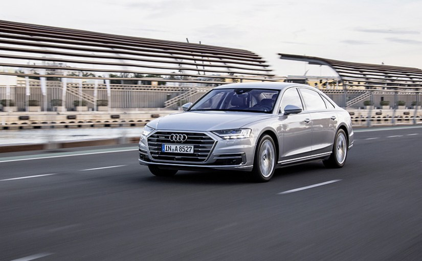 Infineon supplying chips for Audi A8, said to be 'world's first series production car with autonomous driving features'