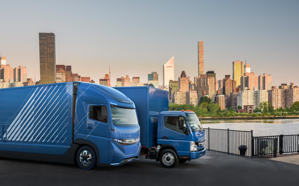 Mitsubishi Fuso launches E-Fuso electric truck and plans to electrify all its vehicles