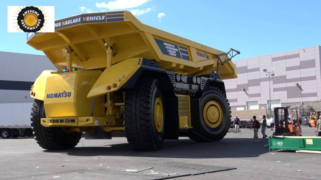 Rio Tinto preparing autonomous mining trucks suitable for gigantic alien astronauts