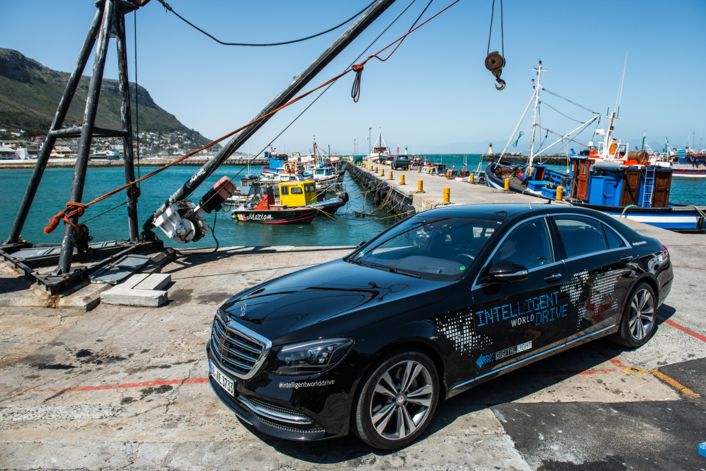 Mercedes-Benz is testing automated driving functions in South Africa