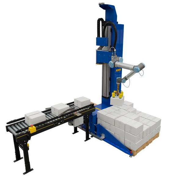 Universal and Apex set to launch collaborative robot-assisted palletising