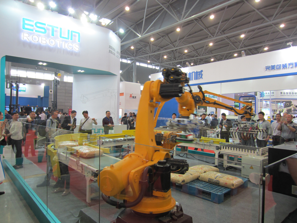 Estun Automation starts production of industrial robots in China