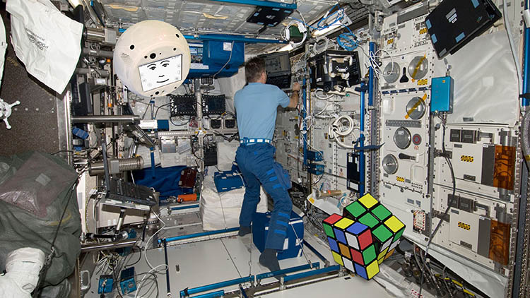 Alien robot to visit International Space Station
