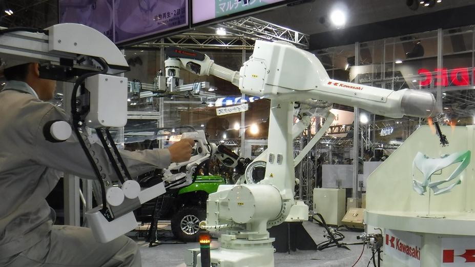 Kawasaki 'Successor' to expand human-robot remote collaboration