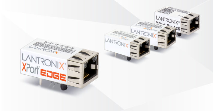 Lantronix launches its first embedded Ethernet gateway XPort Edge