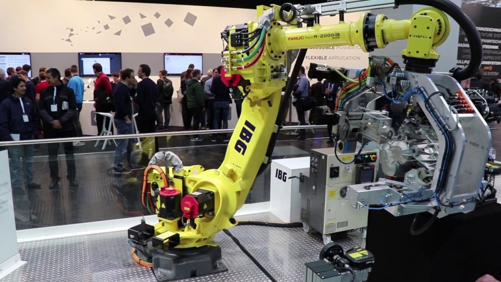 'Concentrated robotics power' at Hannover Messe 2018
