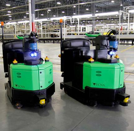 Vecna Robotics and Topper Industrial partner on cart delivery solutions