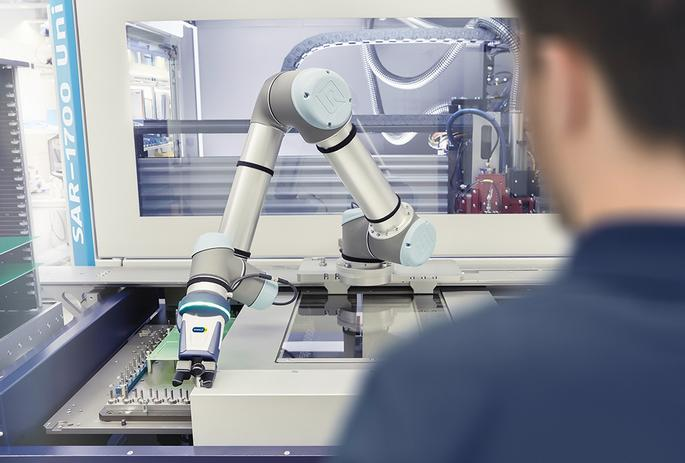 Schunk demonstrates how the electronics industry can be made more collaborative