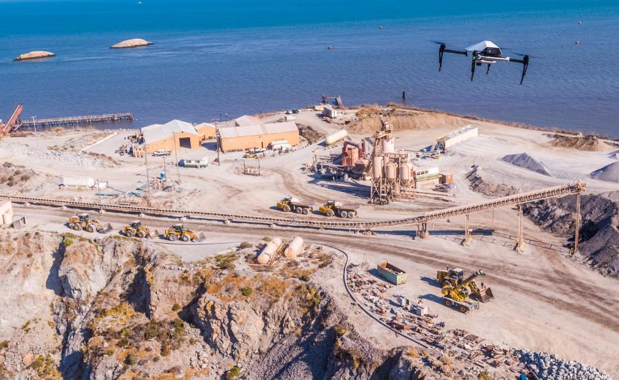 Skycatch and DJI  to deliver drones for Komatsu Smart Construction sites