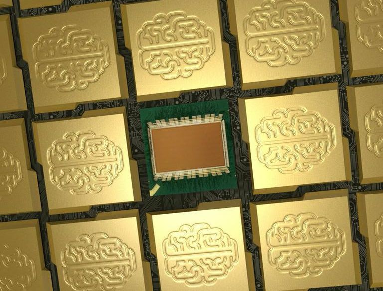 ibm brain chip