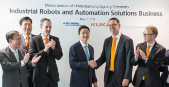 Hyundai Heavy Industries to sell Kuka robots to manufacturers