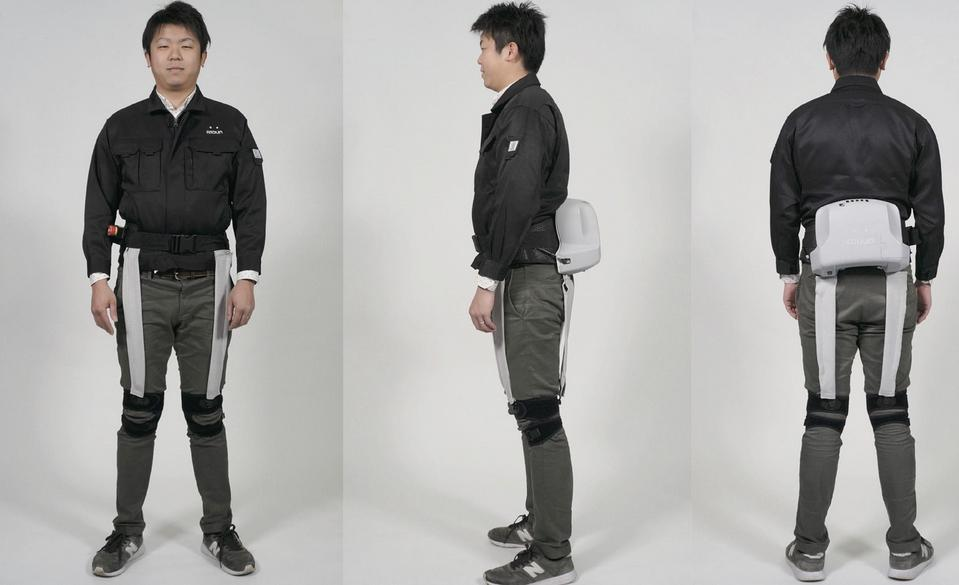 Atoun develops a wearable robot to aid walking