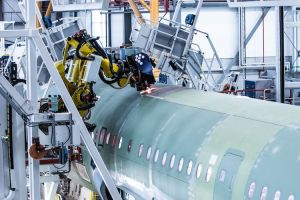 Airbus inaugurates Hamburg's fourth A320 production line dominated by robots and digital processes