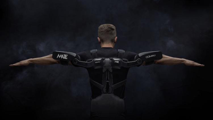 Comau unveils new exoskeleton at Automatica