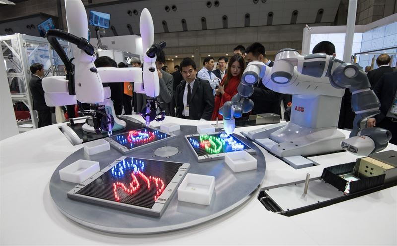 ABB and Kawasaki partner to launch 'world's first' operating system for collaborative robots