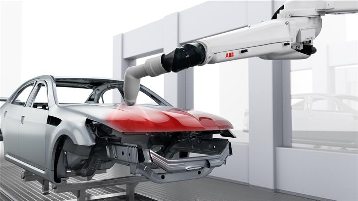 ABB claims its 'world first' digital connected paint atomizer can save 'millions of dollars'
